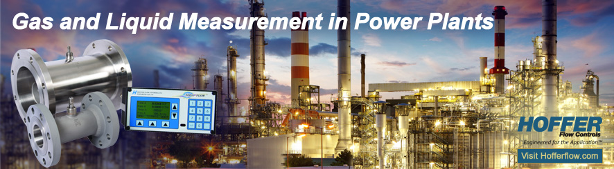 Gas and Liquid Measurement in Power Plants