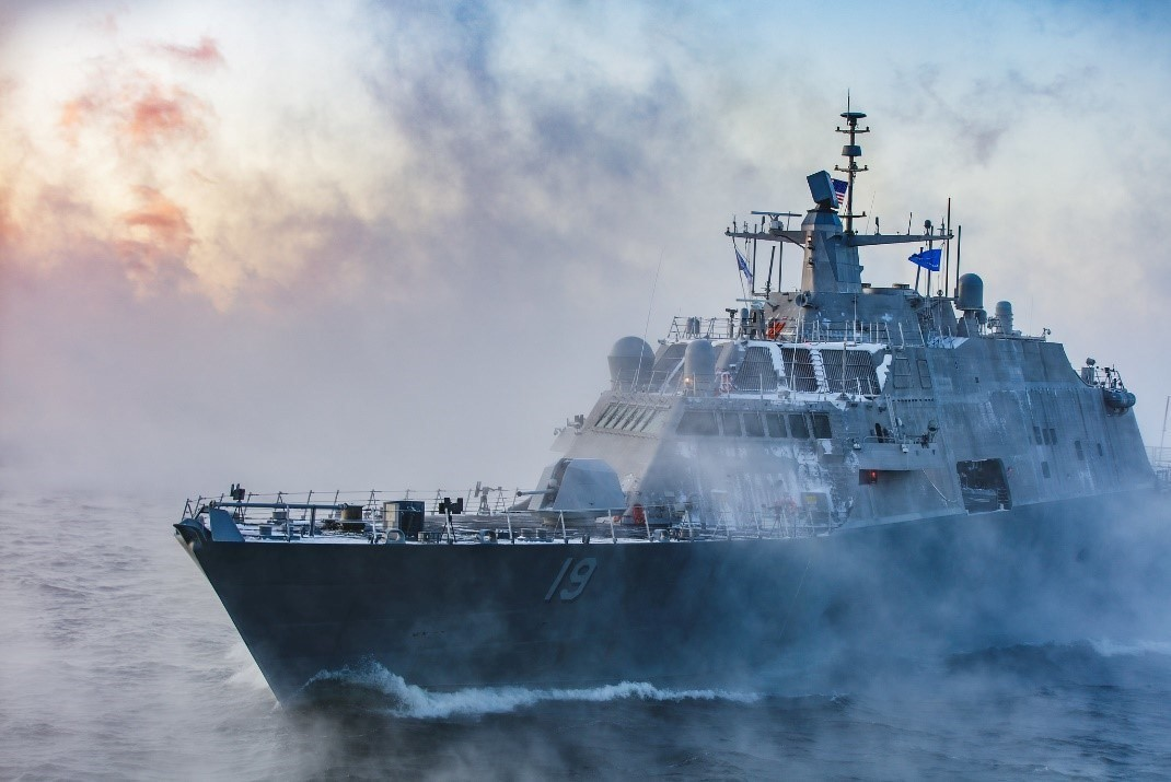 Flow Systems on US Navy Ships LCS 19