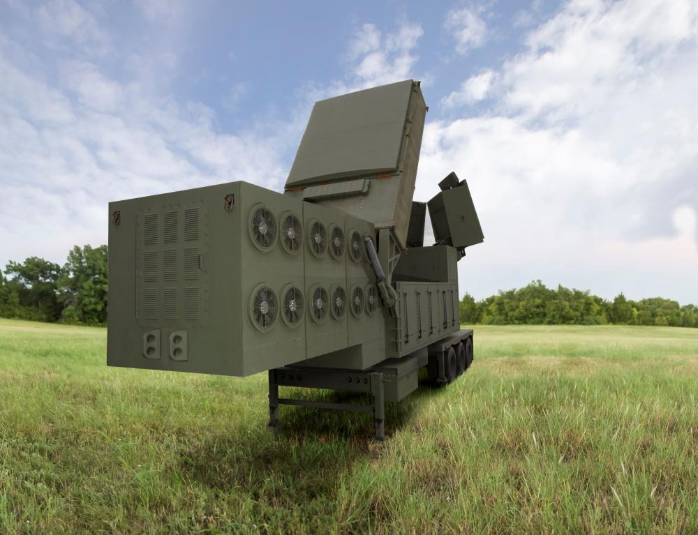 Radar cooling flow metering