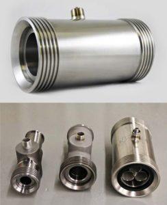 4″ Wing Nut Turbine Flow Meters High Pressure for Liquid