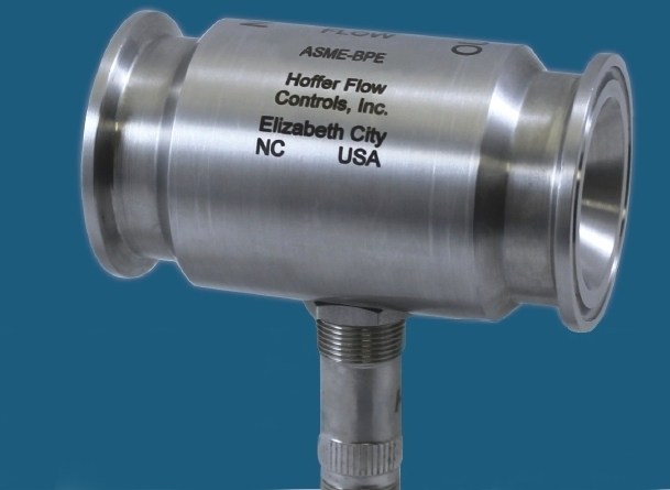Sanitary Turbine Flowmeters Applications