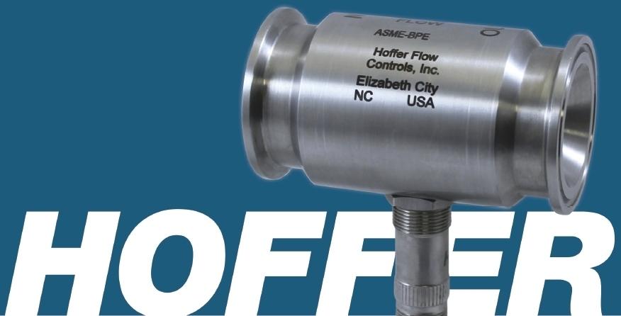 Sanitary flowmeters, BPE-compliant sanitary flowmeter